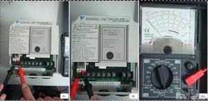 变频器维修之制动单元是否损坏检测方法