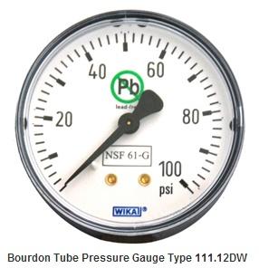 WIKA威卡压力表各种型号及类型介绍